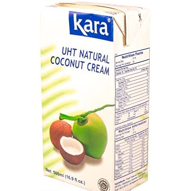 Coconut Cream 500ml Tetra Pak Kara **limit 3 per order