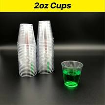 Cup Lid Portion Control Plastic round 2oz/59ml Capri 125's (Cup sold seperately)