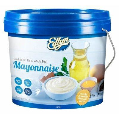 Mayonnaise Egg Traditional Thick Gluten Free 10kg Edlyn