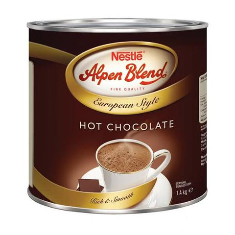 Drinking Chocolate 1.4kg Alpen Blend