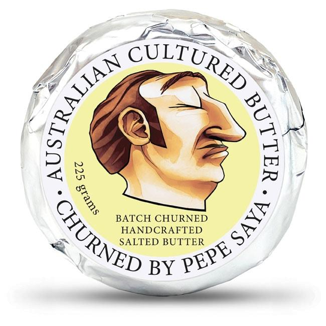 Butter Cultured Salted Pepe Saya 225g- Allow 3 days