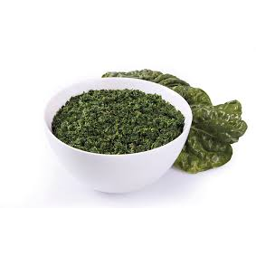 Spinach Chopped IQF 2.5kg Frozen Natures Link