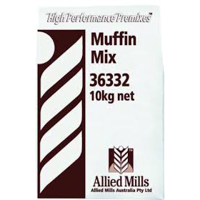 Muffin Mix 10kg Allied Chef