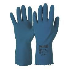 Gloves Rubber 7.5 Medium Size Pair Handcare