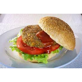 Burgers Mushroom Vegan Fully Cooked 42 x 100g Frozen Uncle Harrys