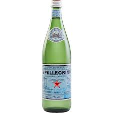 Mineral Sparkling Water Glass Bottle 12 x 750ml San Pellegrino