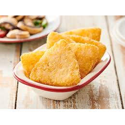 Hash Brown Triangles 2kg Frozen Edgell