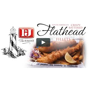 Flathead Fish Fillet Crispy Batter 3kg Frozen I & J 60 pieces