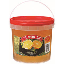 Jam Marmalade English Plastic Tub 2.5kg Kraft