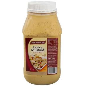 Honey Mustard Dressing 2.5kg Masterfoods