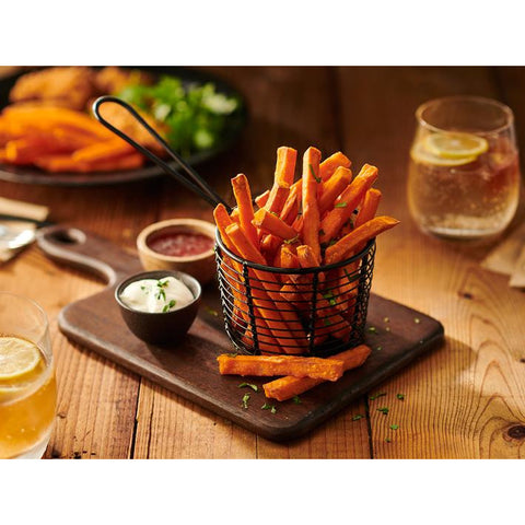 Sweet Potato Chips Australian 10mm 6 x 1.5kg Edgell