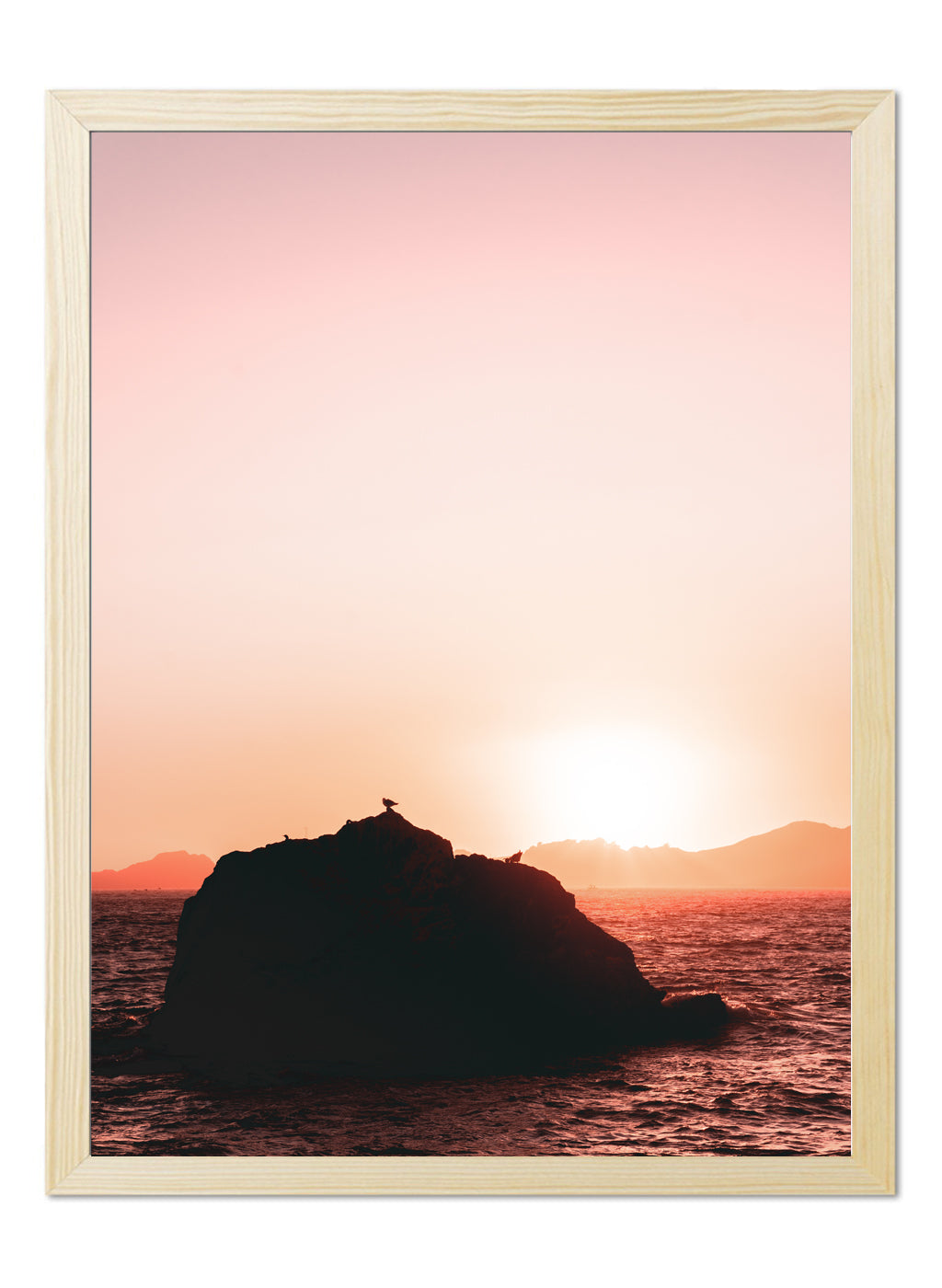 Original Poster - Sunset Silhouette