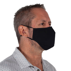 Copper Infused Reusable Mask - Black