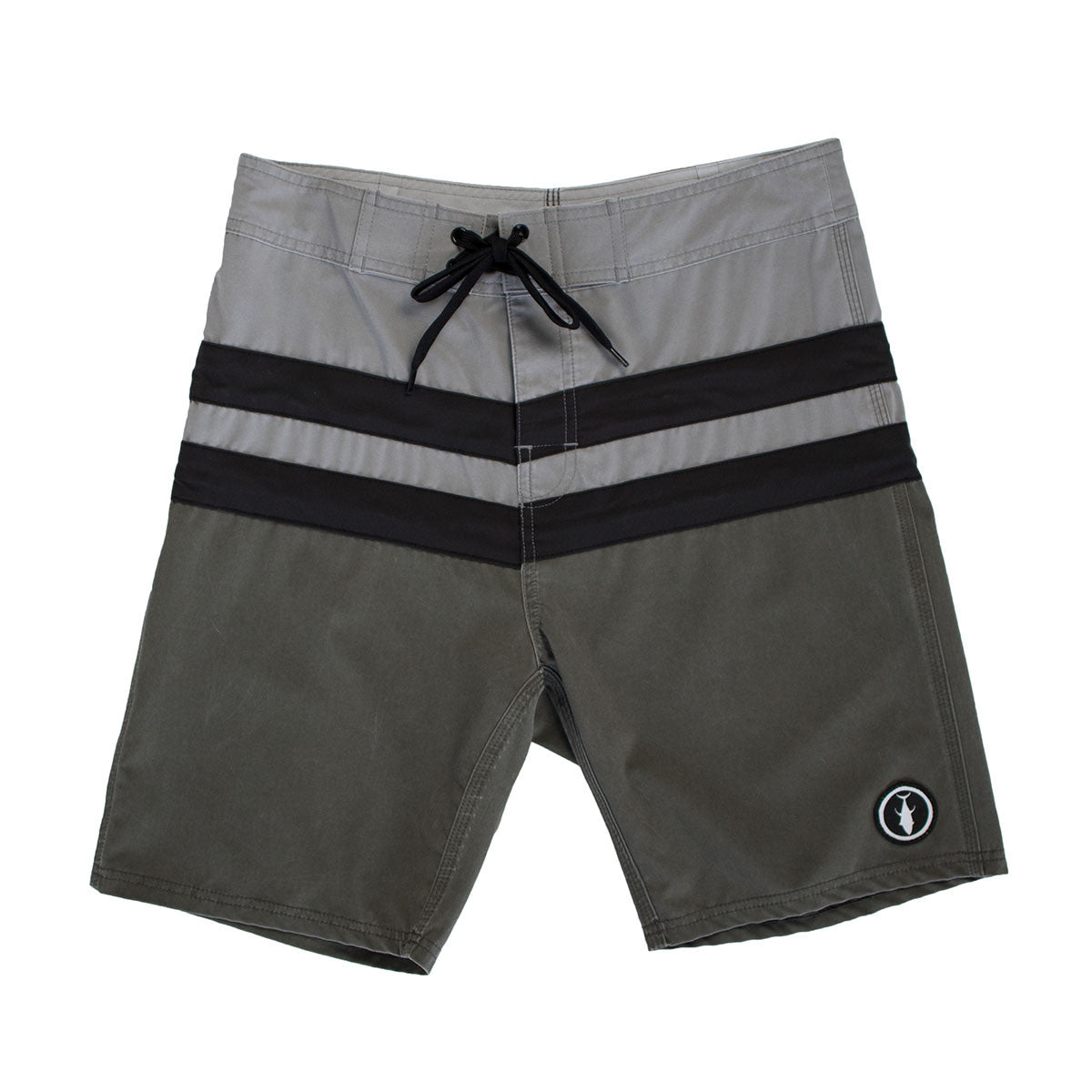 2 Stroke Boardshorts - Grey/Black