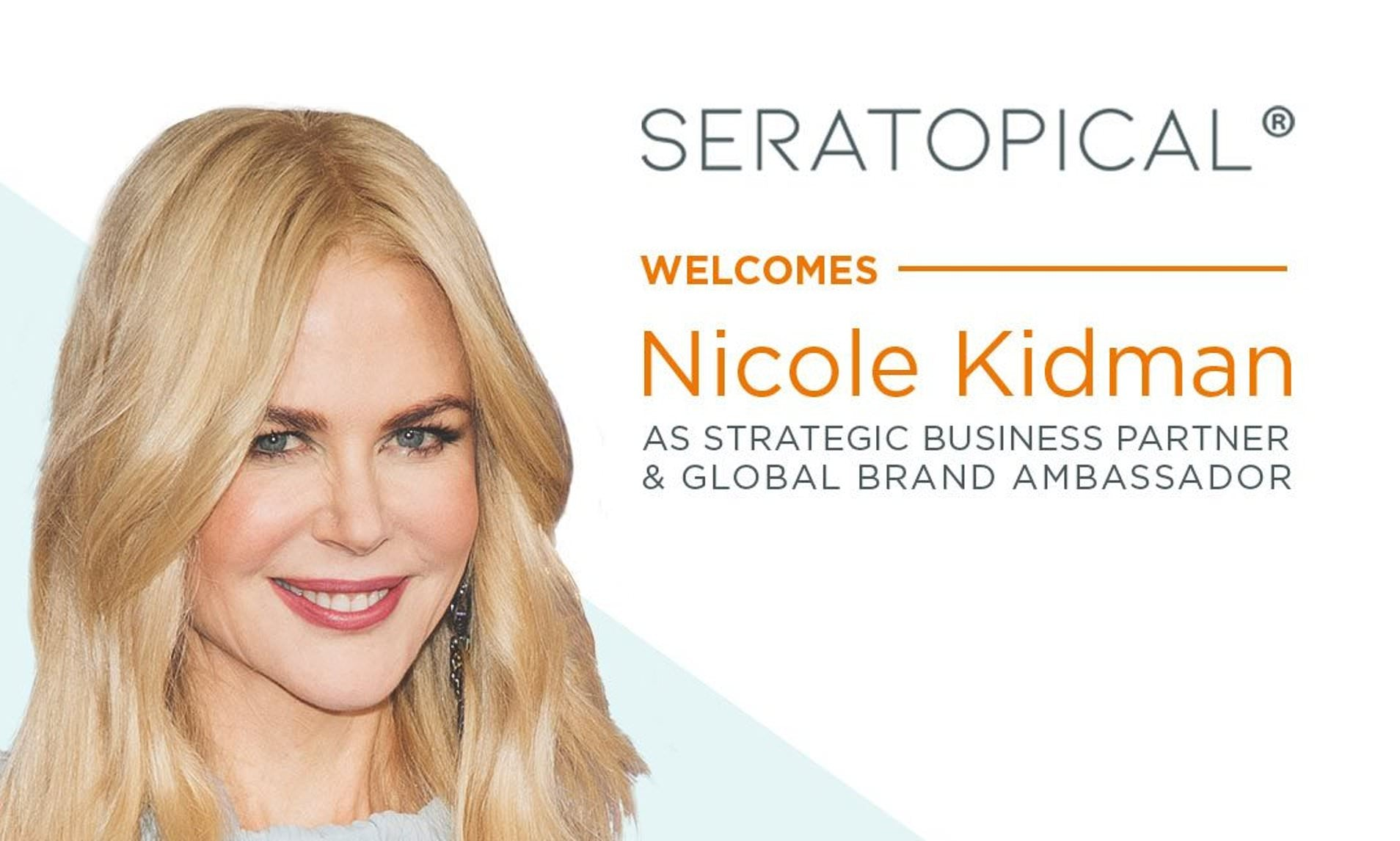 Nicole Kidman for SeraLabs in People Magazine