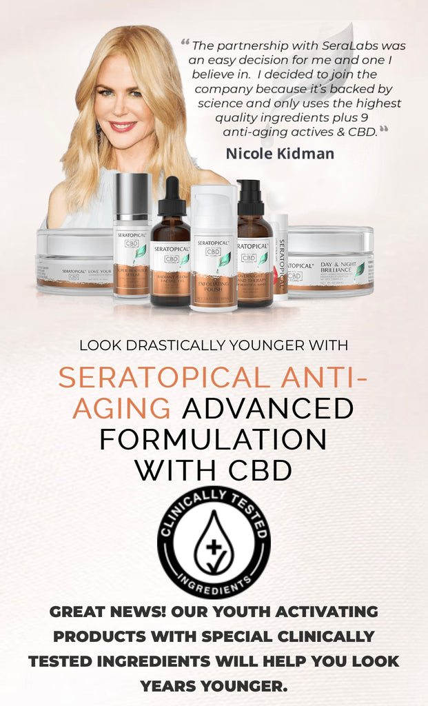 Nicole Kidman Partners with SeraLabs, Available at Preferred-CBD.com