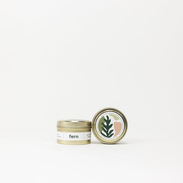 Fern- Travel Tin
