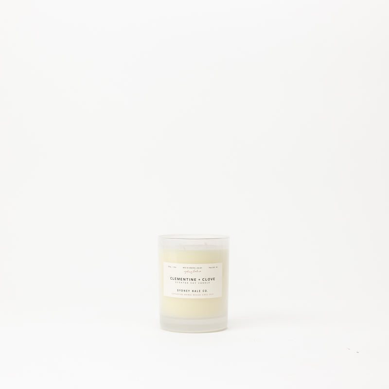 Clementine + Clove Candle
