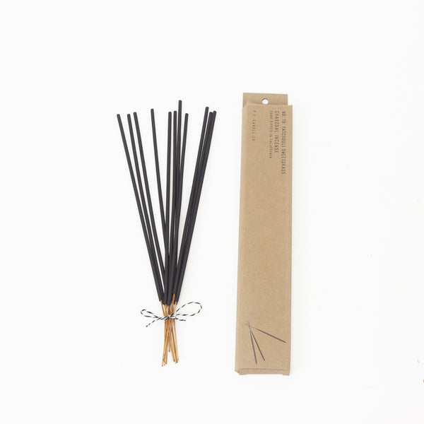 Patchouli + Sweetgrass Incense