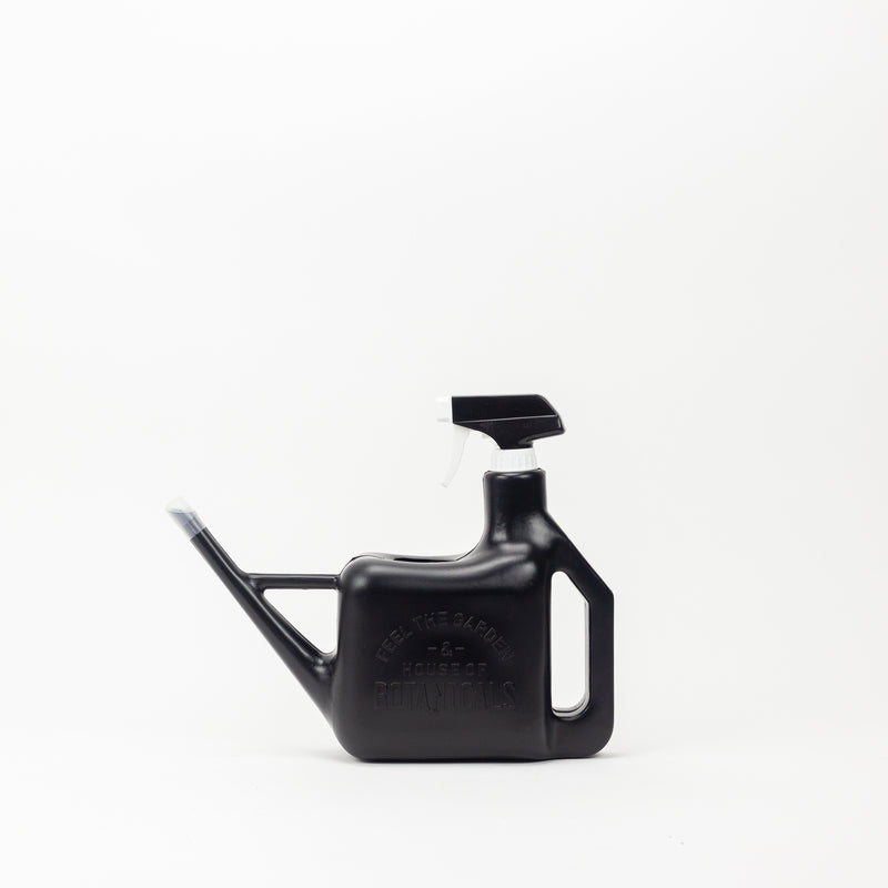 Spray Sprinkler Watering Can - Black