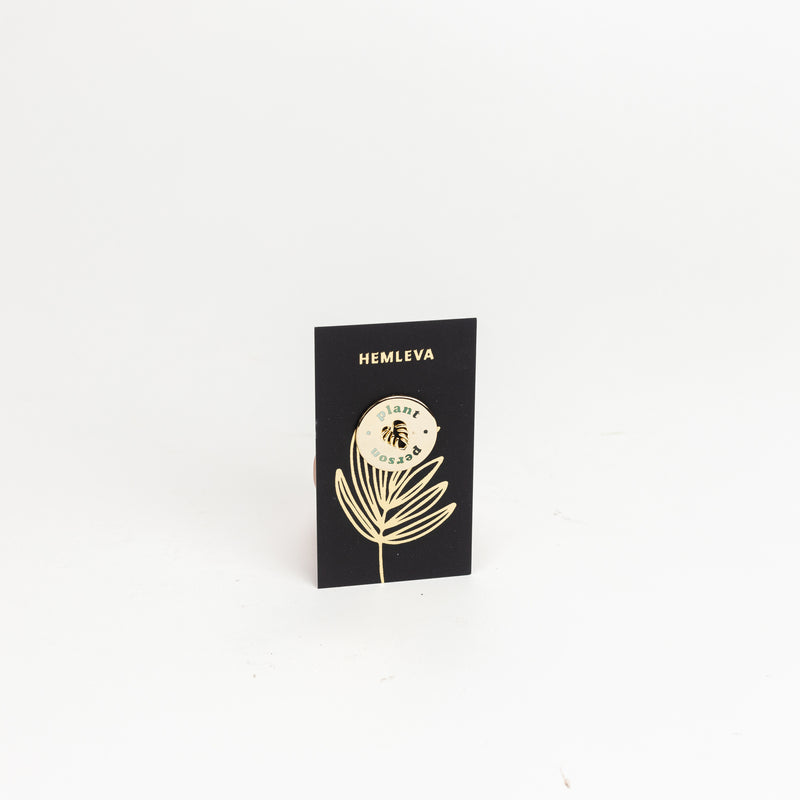 Plant Person Enamel Pin
