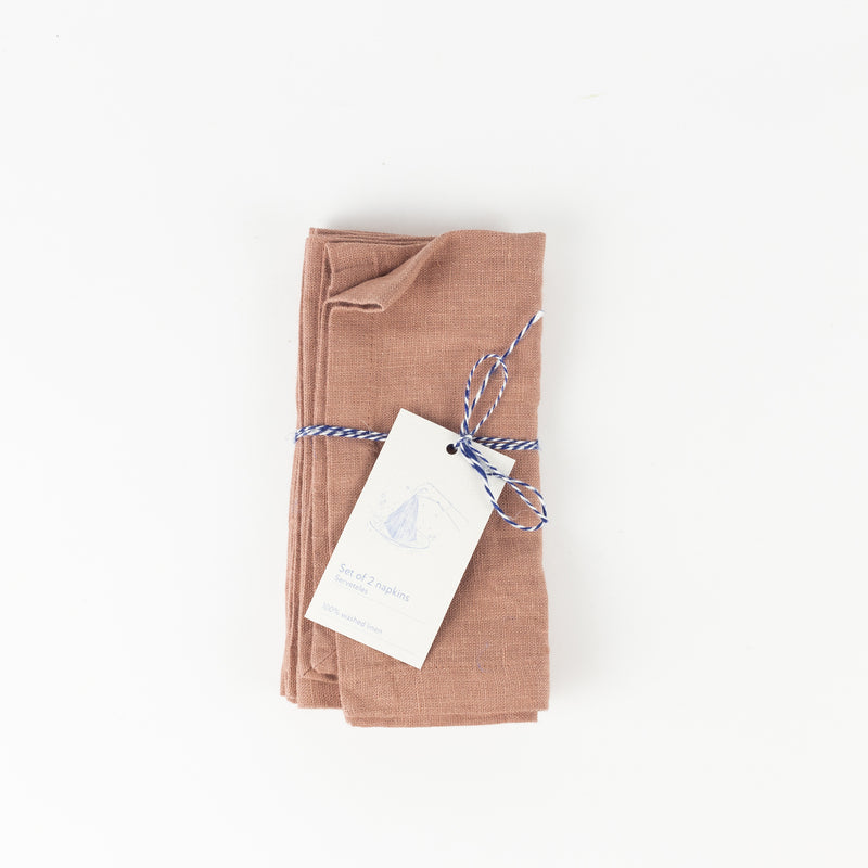 Set of 2 Napkin - Cafe Creme