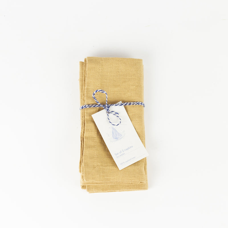 Set of 2 Napkin - Honey