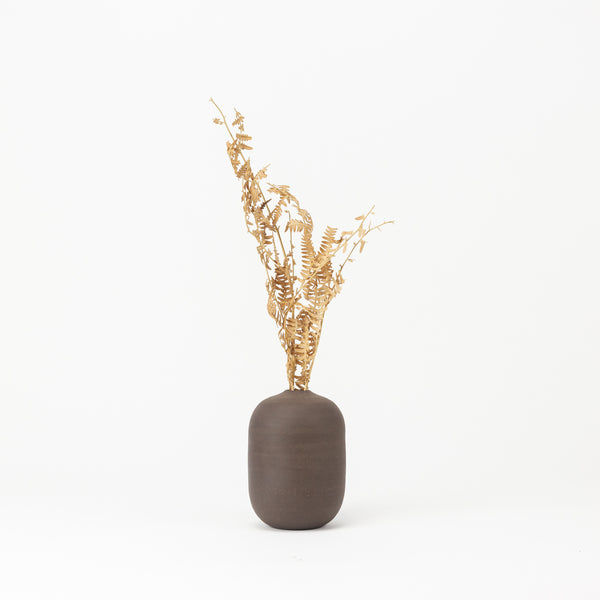 Barrel Bud Vase - Chocolate