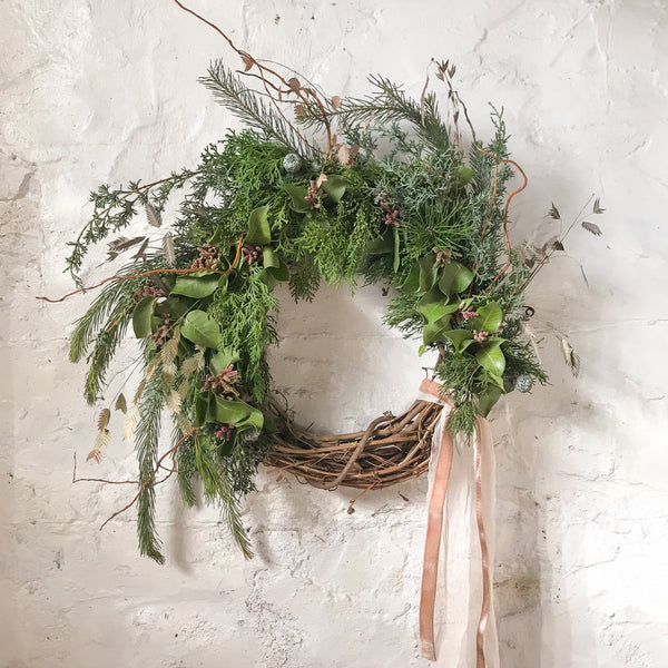 Virtual Holiday Wreath Making