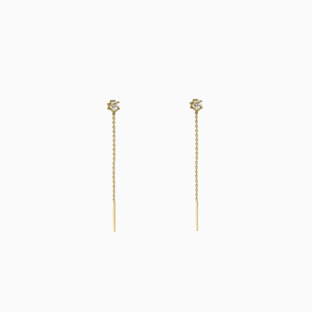 Mira Thread Earrings