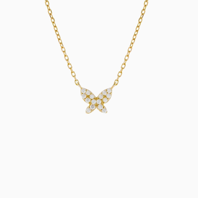 Farah Butterfly Necklace