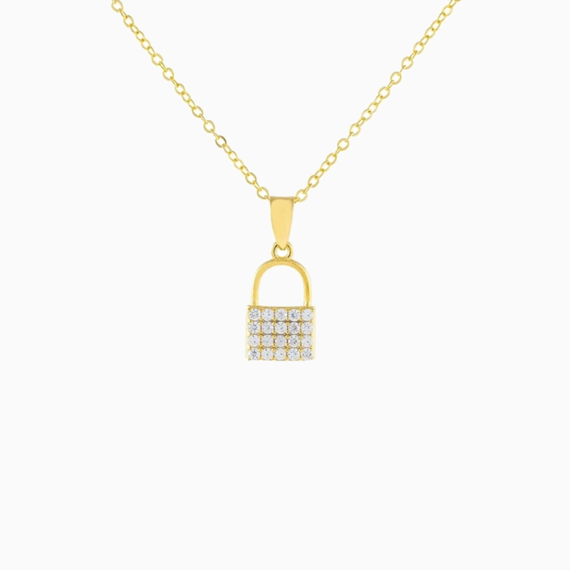 Lock Necklace - MissiMeOfficial