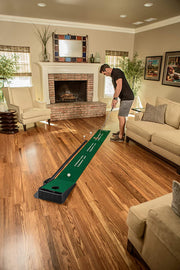 Indoor Putting Green with Ball Return, 9 feet x 16.25 inches