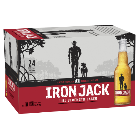 Barrel House Distribution-Iron Jack Red Stubbies 330ml-Pubble Alcohol Delivery