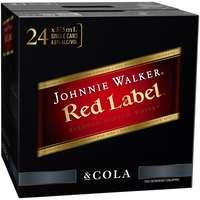 Barrel House Distribution-Johnnie Walker & Cola Cans 375ml X 24-Pubble Alcohol Delivery