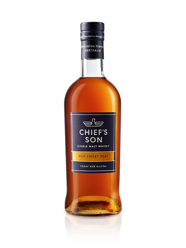 Chief's Son Distillery-900 Sweet Peat Single Malt Whisky 45% 700ml-Pubble Alcohol Delivery