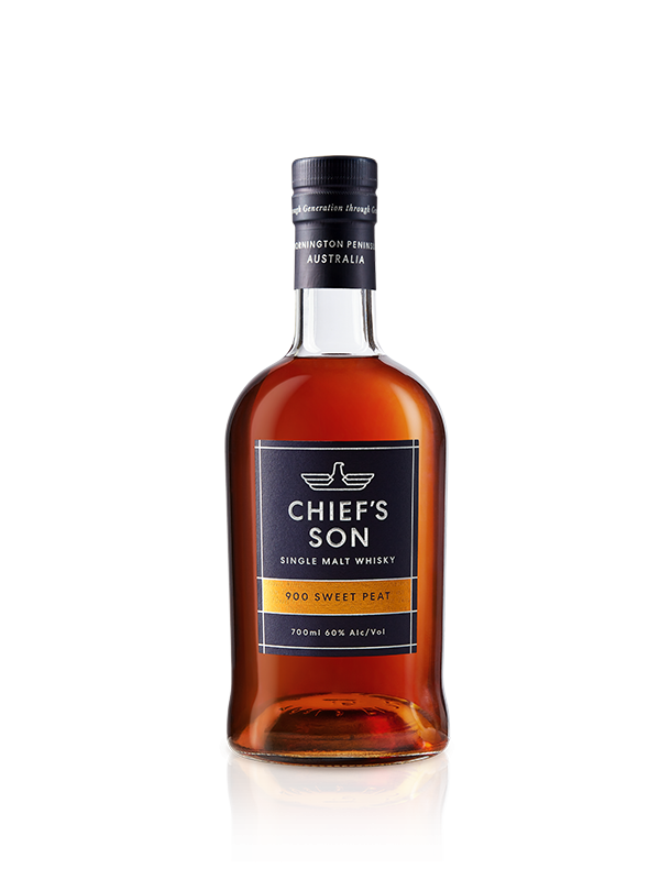 Chief's Son Distillery-900 Sweet Peat Single Malt Whisky 60% 700ml-Pubble Alcohol Delivery