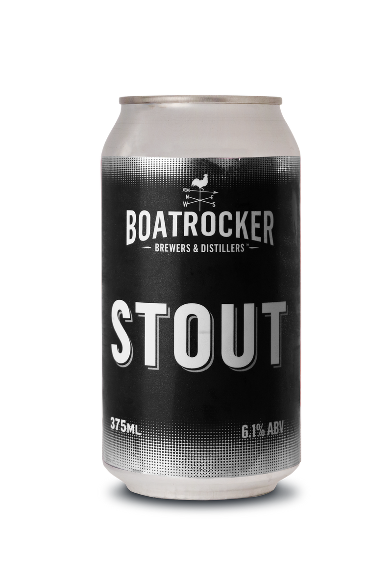 Boatrocker Brewers & Distillers-Stout 375ml x 4-Pubble Alcohol Delivery