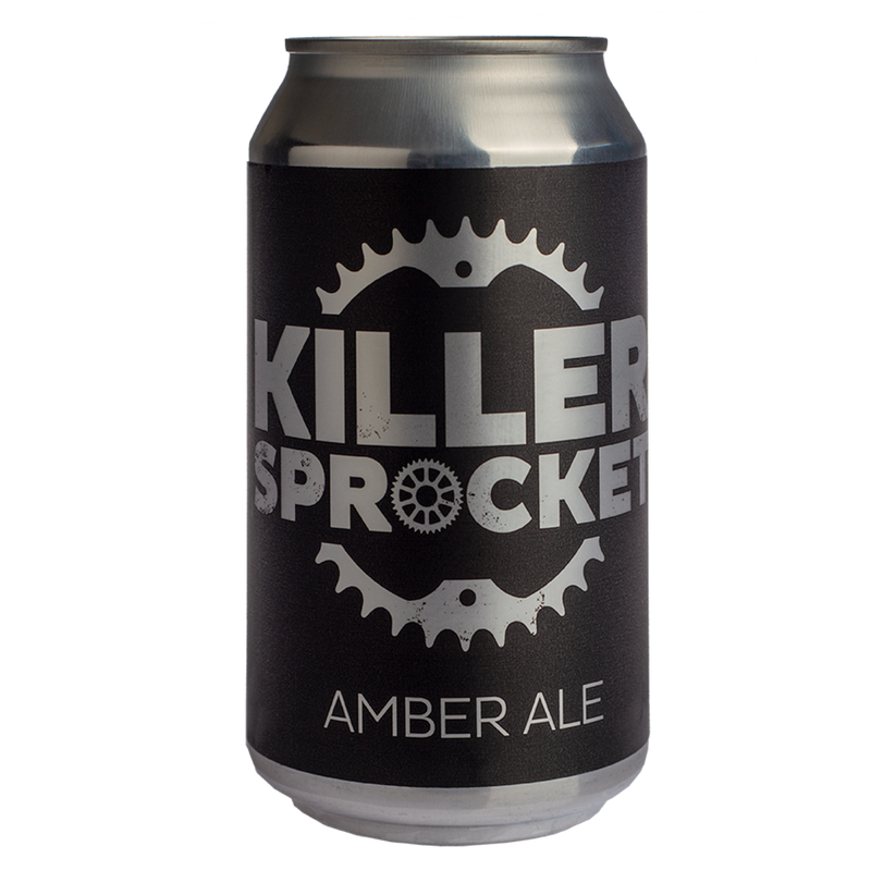 Killer Sprocket-Amber Ale 375ml x 4-Pubble Alcohol Delivery