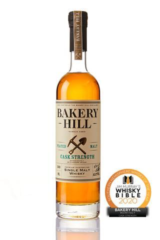 Bakery Hill-Peated Malt Cask Strength 500ml at 60%-Pubble Alcohol Delivery