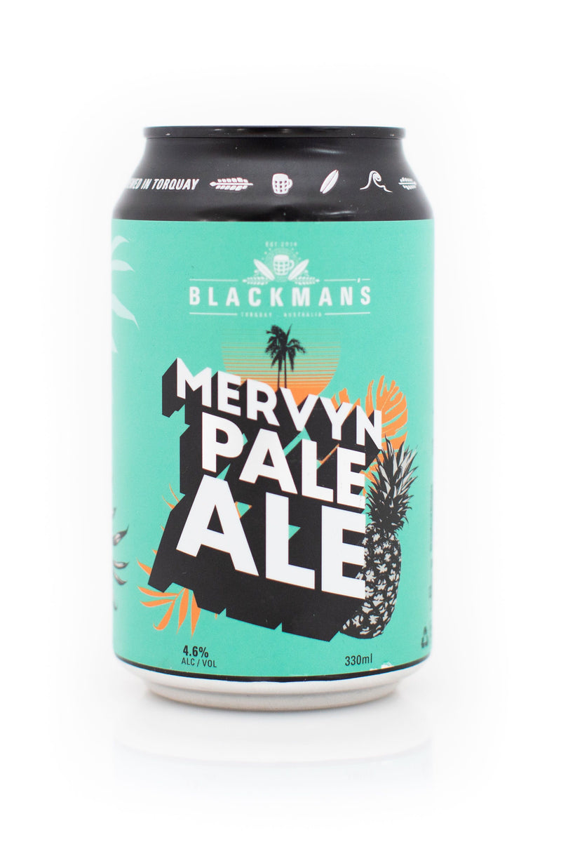 Blackman's Brewery-Mervyn American Pale 330ml x 4-Pubble Alcohol Delivery