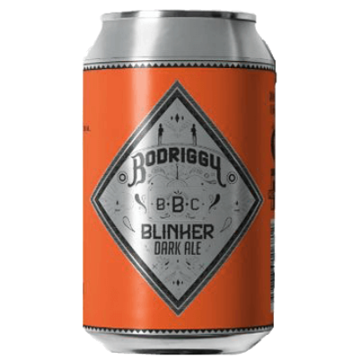 Bodriggy Brewing Co.-Blinker Dark Ale 355ml x 4-Pubble Alcohol Delivery