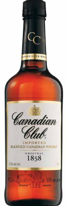 Barrel House Distribution-Canadian Club Whisky 700mL-Pubble Alcohol Delivery
