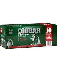 Cougar & Cola Cans 375ml 10 Pack