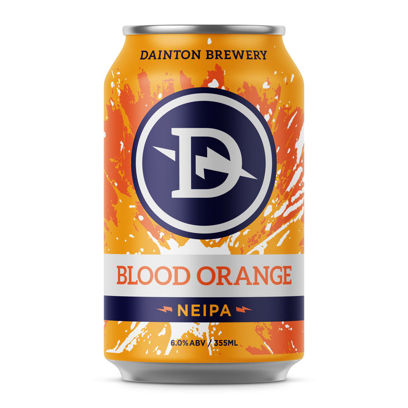 Dainton Brewery-Blood Orange NEIPA 355ml x 4-Pubble Alcohol Delivery