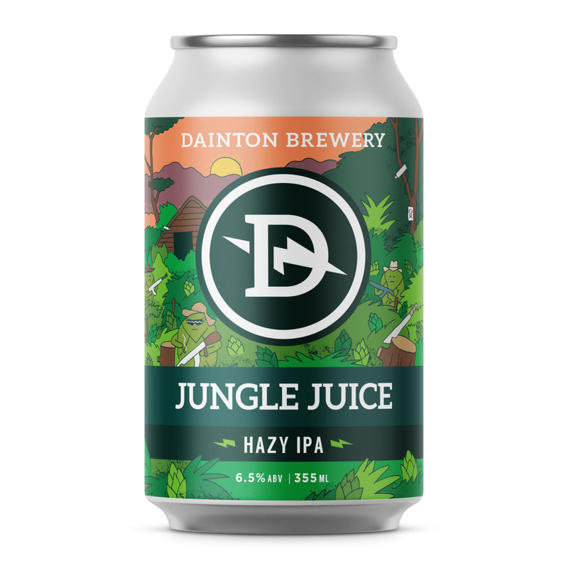 Dainton Brewery-Jungle Juice 355ml x 4-Pubble Alcohol Delivery