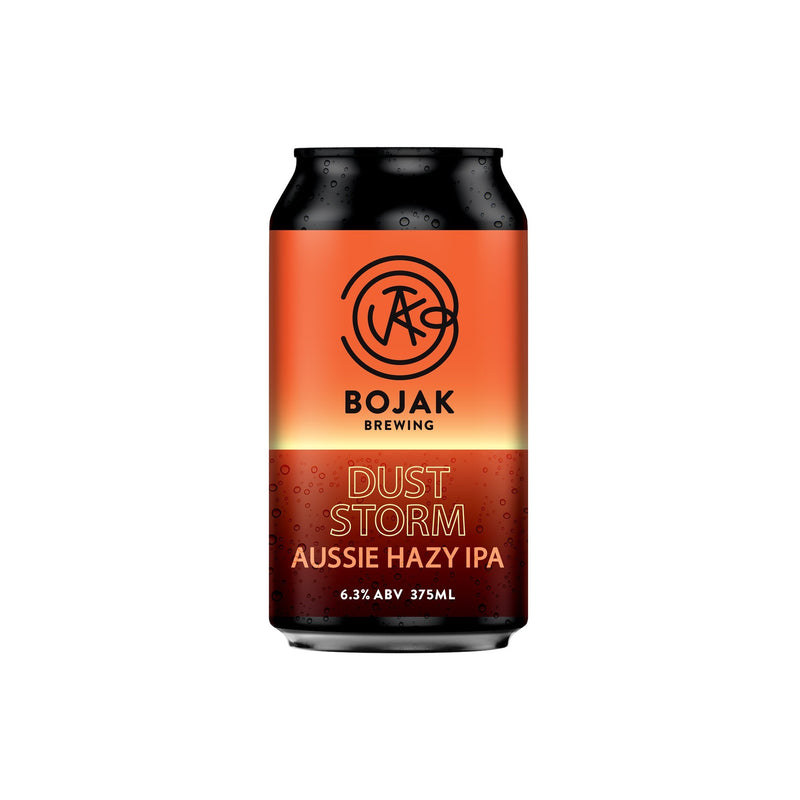 Bojak Brewing-Dust Storm Aussie Hazy IPA 4 x 375ml-Pubble Alcohol Delivery