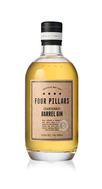 Four Pillars-Chardonnay Barrel Aged Gin 500ml-Pubble Alcohol Delivery