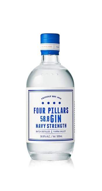 Four Pillars-Navvy Strength Gin 500ml-Pubble Alcohol Delivery