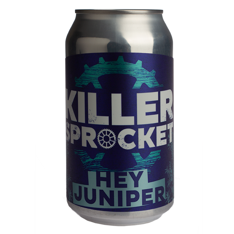 Killer Sprocket-Hey Juniper 355ml x 4-Pubble Alcohol Delivery